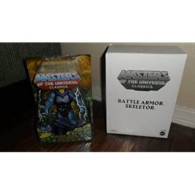 Masters of the Universe Classics MOTU Battle Armor Skeletor Action Figure: Toys & Games