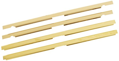 - Comfort Flame LT32B Fireplace Louver Trim Kit, 32-Inch, Brushed Brass
