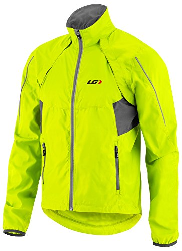 Louis Garneau Men's Cabriolet Cycling Jacket Yellow Large Louis Jacket
