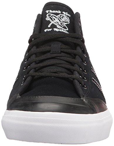 adidas Originals Herren Matchcour Mid Fashion Sneaker Schwarz / Schwarz / Weiß