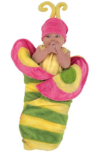 Beautiful Butterfly Caterpillar Swaddle Wings Infant Baby (0-3 Months) ()
