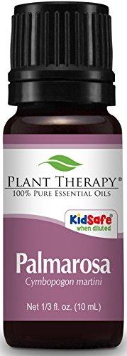 Plant Therapy Palmarosa Essential Oil 10 mL  100% Pure, Undi