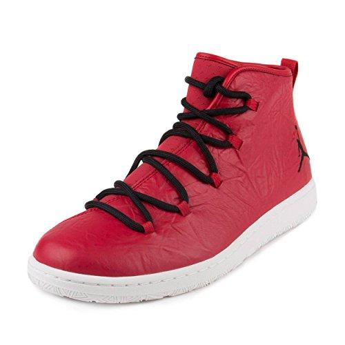 (Jordan Nike Mens Galaxy Gym Red/Black-White Leather Size 13)