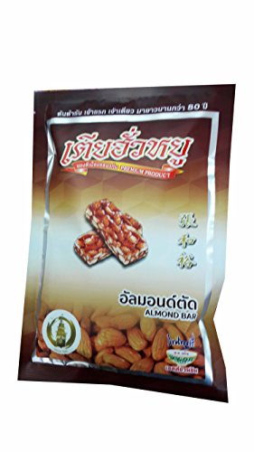 [Almond Bar, Premium Snack From Khonkaen, Thailand. (2 Packs)] (Dark Chocolate M&m Costume)
