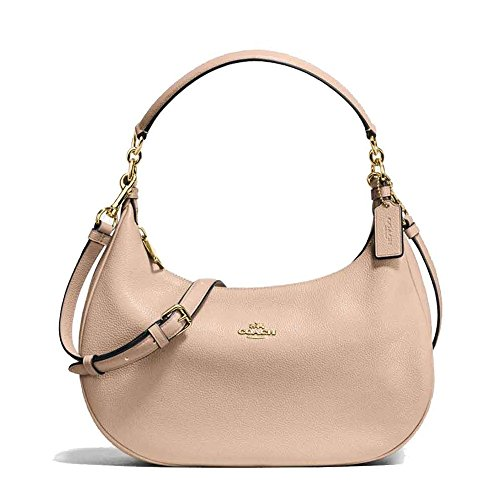 Coach Tote Leather Harley East/West Hobo Beechwood by Coach