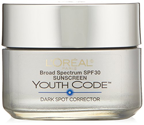 L'Oreal Paris Youth Code Dark Spot Corrector Facial Day Cream SPF 30, 1.7 Ounce