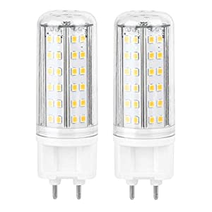 DEWIN Corn Bulb – Corn Bulb Lamp G12 LED Corn Bulb Lamp 10W Hight Bright Lamp Home With 85 LED Beads AC85-265V(Warm…