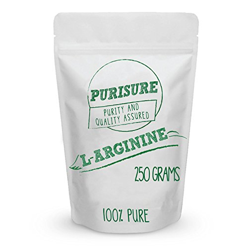 L-Arginine Powder 250g (83 Servings), Enhanced Workout Capacity, Boost Nitric Oxide, Promote Lean Muscle Mass, Maximize Athletic Performance, Mood Support