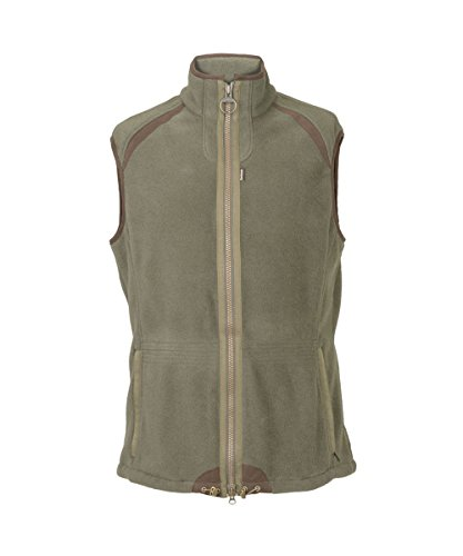 Barbour Langdale Gilet Vest (Olive, Small) Barbour Fleece Jacket