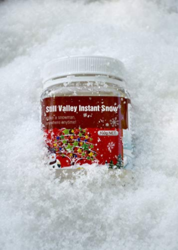 Still Valley Insta Snow - Makes 2 Gallons of Fake Snow for Slime -