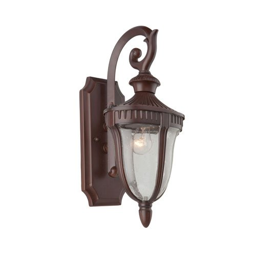 - Artcraft Lighting Palermo Outdoor Wall Sconce, Small, Graphite