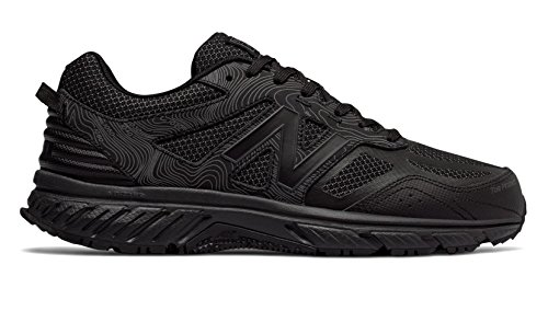 New Balance 510v4 Trail Shoe - Men's Trail Running Black by New Balance (Image #4)