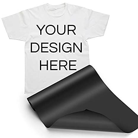 HTV Iron on Vinyl 12inch x12feet Roll by Somolux for Silhouette and Cricut Easy to Cut /& Weed Iron on Heat Transfer Vinyl DIY Heat Press Design for T-Shirts Black