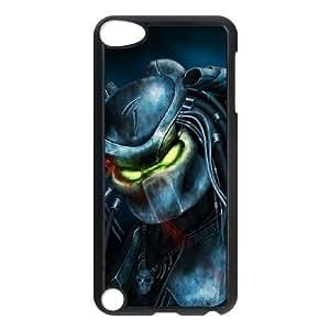 Predator F6K7Eu iPod Touch 5 Caso Funda Negro E6K2MM funda caja del teléfono personalizada de nuevo