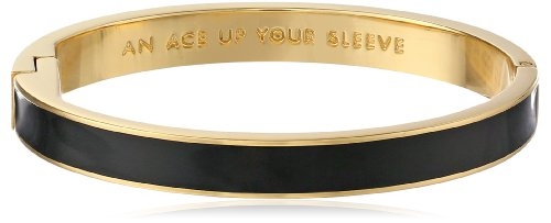 Kate Spade New York Idiom Bangles Ace Up Your Sleeve Hinged Bracelet by Kate Spade New York
