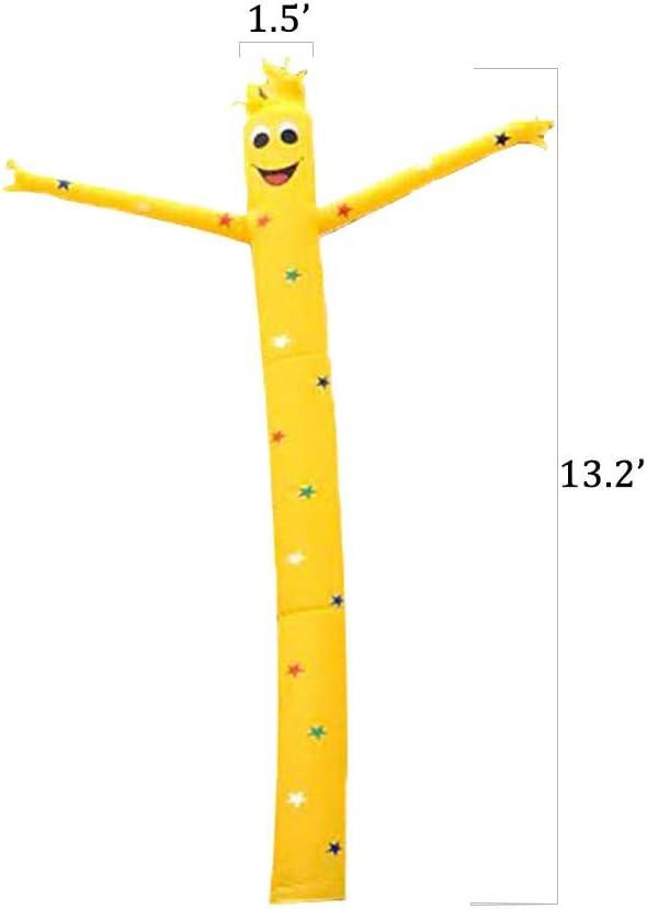WCY Luft aufblasbare Dancer Puppe 13.2 ft Color : A Sky Dancer Nicht enthalten Gebl/äse wasserdicht Schwingen Cartoon H yqaae Geeignet for Einkaufszentren Vergn/ügungsparks und G/ärten