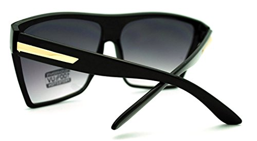 092e00047b Large Oversized Retro Fashion Square Flat Top Sunglasses - Import It All