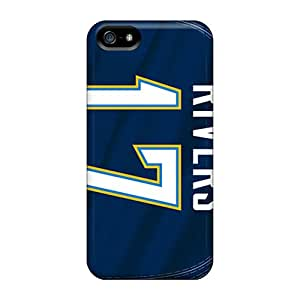 CristinaKlengenberg Iphone 5/5s Excellent Hard Phone Covers Provide Private Custom Fashion San Diego Chargers Pattern [Ldv10398xqWb]
