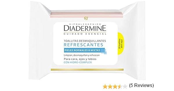 Diadermine - Toallitas Desmaquillantes Refrescantes (pack de 6): Amazon.es: Belleza