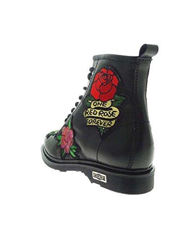 Mid Flowers leather Cult black colore Sabbath 5wO8xnqnBS
