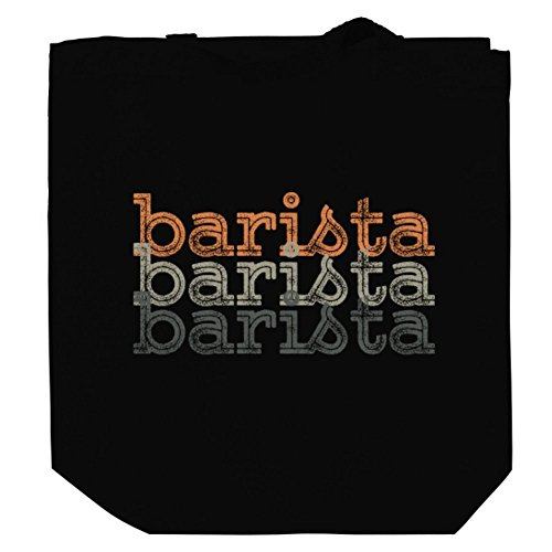 Price comparison product image Barista repeat retro Canvas Tote Bag