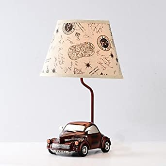 Giftwow haoxinyi vintage car table lamp 1 light modern novelty vintage car table lamp 1 light modern novelty red resin 110v220v mozeypictures Choice Image