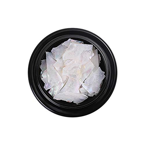 - Nail Art Natural Glitter Decorations,Landscap Shell Fragments DIY Nail Decor Ultra-thin Irregular Nail Art Decor(A)