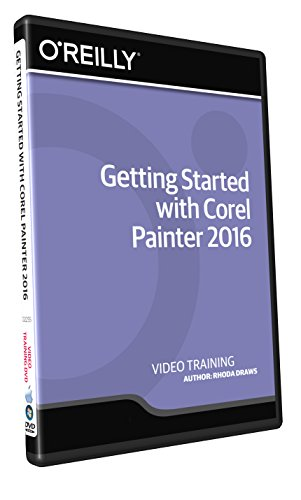 Getting Started with Corel Painter 2016 - Training DVD