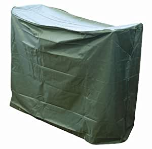 """Bosmere C511 Bistro Set Waterproof Outdoor Cover for 2 Chairs & Round Table 49"""" Long x 25"""" Wide x 31"""" High, Green"""