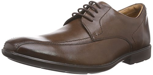ClarksGosworth Over - Scarpe Stringate Uomo Marrone (Walnut Leather)