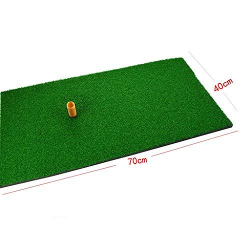 DQMSB Golf Mat Personal Mat Swing Practice Mat 0.4 X 0.7m Exercise mats