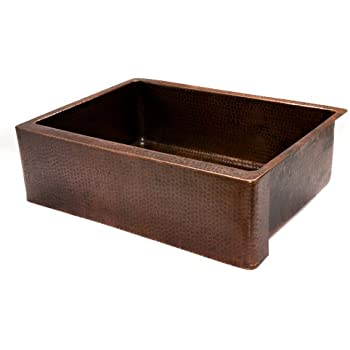 Premier Copper Products Kasdb30229 30 Inch Copper Hammered