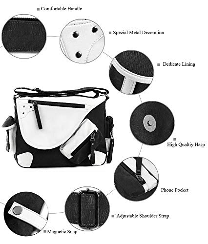 Anime axelväska cosplay natsume Yuujinchou Satchel handväska ryggsäck messengerväska crossbody
