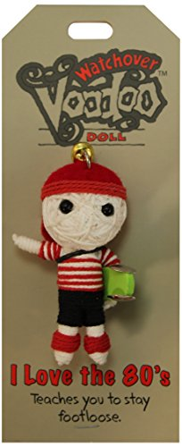 [Watchover Voodoo I Love the 80's Doll, One Color, One Size] (Voodoo Doll Costume Child)