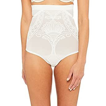 Nancy Ganz Women's Enchante High Waisted Brief, Frost, Medium