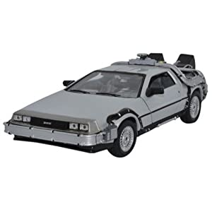 DeLorean Retour vers le Futur 1 échelle 1/24