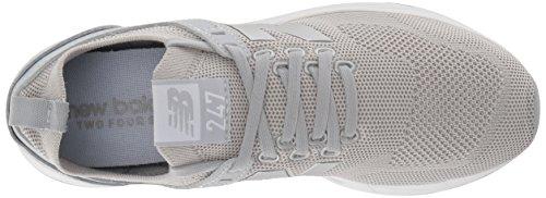 Zapatillas Plateado Wrl247d1 para Silver Mujer New Balance Mink XEwqTRE6