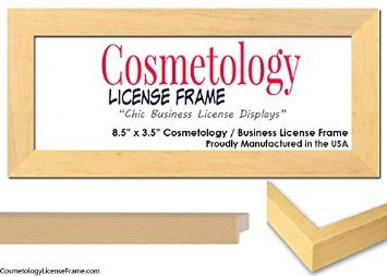 Finish Business/Cosmetology License Frame - 8.5 x 3.5 inches ()