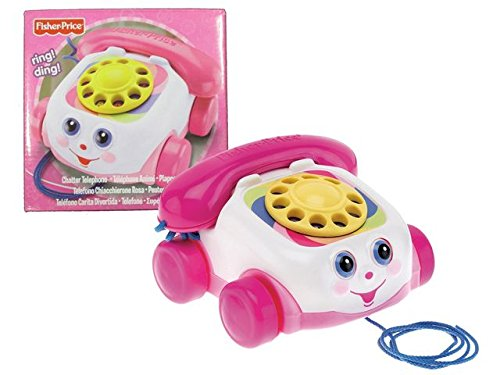 Fisher Price *Chatter Telephone* Pink (Chatter Phone)