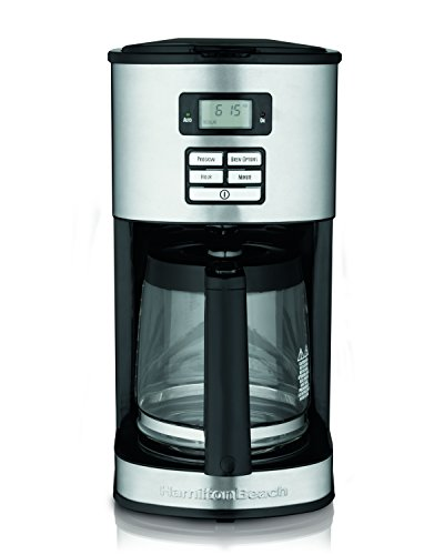 Hamilton Beach 12-Cup Coffee Maker, Programmable (49618) ()