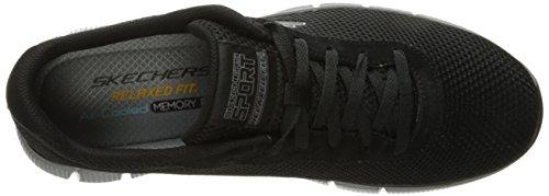 Charcoal Sneakers Skechers 2 Equalizer Schwarz Arlor Herren 0 Schwarz 7XF8qwPXx