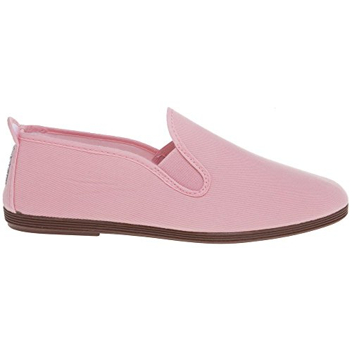 Flossy Arnedo Womens Canvas Shoes Pink - Pink - UK Sizes 3-8 Baby Pink DVsxx6
