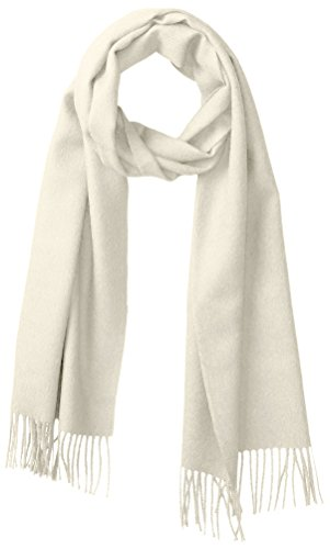 Alicia Adams Alpaca Women's Classic Scarf, Ivory by Alicia Adams Alpaca