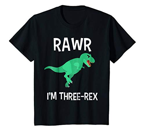 Kids Dinosaur Birthday Party Tshirt - Dinosaur Birthday Shirt 3