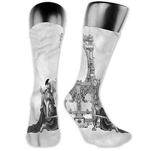 Hip Hop Street Style Sock Victorian,Ancient Roman Design,socks for toddler boys non skid