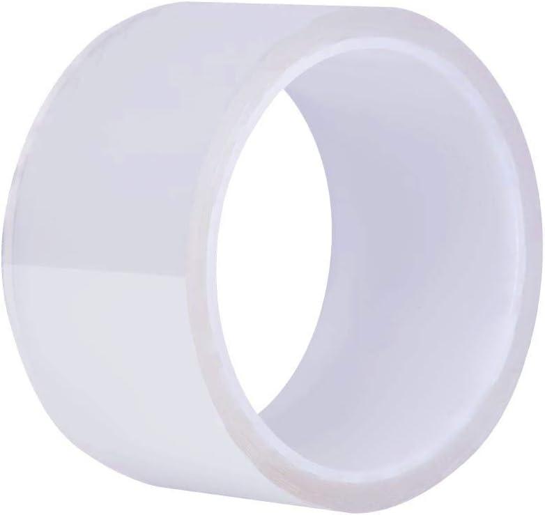 Caulk Strip, Self Adhesive Mildew Proof Repair Tape Waterproof Caulk Tape for Bathtub Shower Bathroom Sink Basin Edge Toilet Wall Mildew Sealing and Kitchen (1.96Inch Width x 10Feet Length)