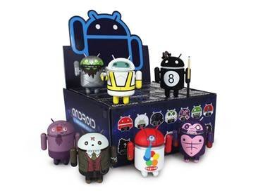 Google Android Mini Collectible Figures, Series 3,…