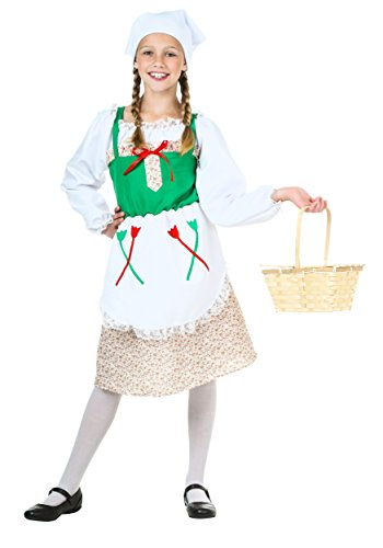 Child Deluxe German Girl Costume Small ()