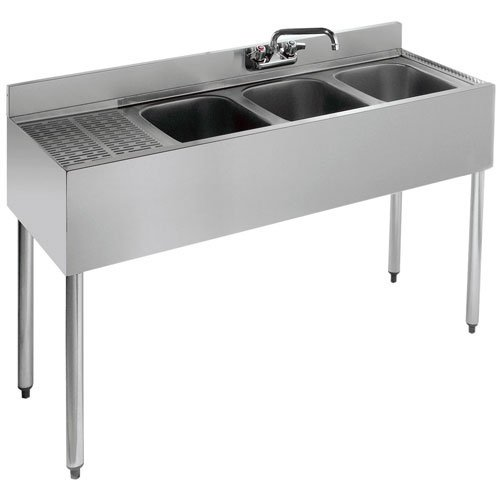 Compartment Bar Sink Unit - 8