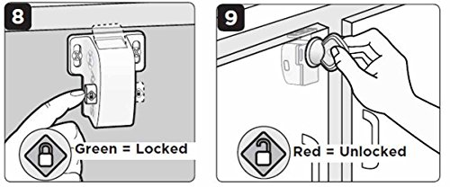 Safety 1st Magnetic Locking System, 1 Key and 8 Locks by Safety 1st (Image #4)